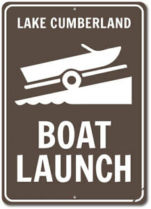 Boat Launch Lake Sign, Personalized Boat Lover Gift ENSA1002467