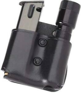 Galco Cop Mag Flashlight Paddle - Ambidextrous - Black MFP28B Flashlight Pouch