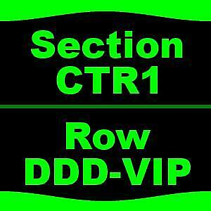 4 Tickets Beck Cage The Elephant & Spoon 83 DTE Energy Music Theatre Clarks