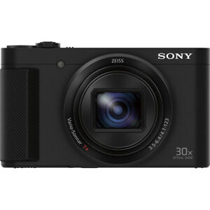 Sony Cyber-shot HX80 Compact Digital Camera with 30x Optical Zoom open box Black