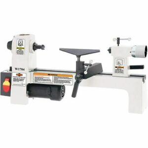 Shop Fox 8in x 13in Benchtop Wood Lathe W1704 Power Tools