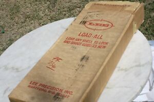 Lot of Two Lee Precision Load All New in box ONE 12 gauge ONE 20 Gauge