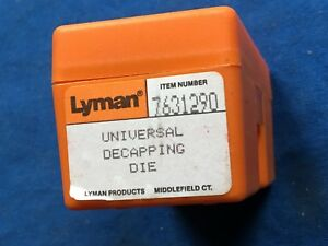 LYMAN universal decapping die with box