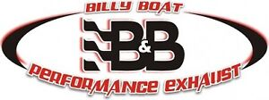Billy Boat FCOR-0615 Catback Bullet Exhaust w4 inch Quad Round Double-Wall Tips