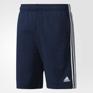 New With Tags Men's Adidas Athletic Gym Muscle Logo Shorts Joggers Black Navy