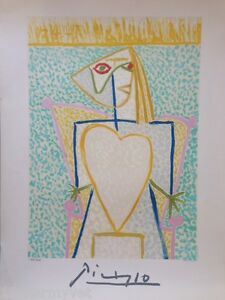 NEW Pablo Picasso Signed and Numbered Lithograph