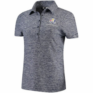 Under Armour Women's Purple 2018 Ryder Cup Zinger Heathered Performance Polo