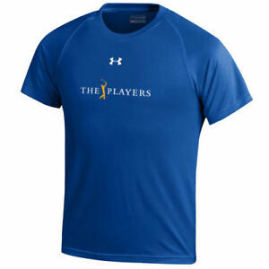 Under Armour THE PLAYERS Youth Royal Tech Performance T-Shirt