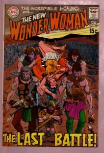WONDER WOMAN #184 1969- LAST BATTLE-DEATH COVER I-CHING VF