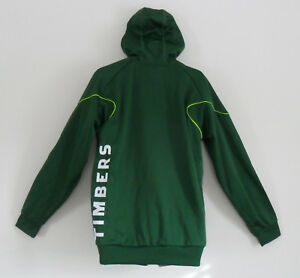 Adidas PORTLAND TIMBERS Hoody Jersey Track Sweat shirt PACKABLE Jacket~Mens sz L