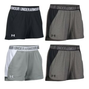 Under Armour 1292231 Women's UA Play Up 2.0 Soft Athletic Shorts Size XS-2XL