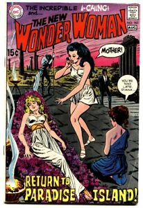 WONDER WOMAN #183 comic book 1969-DC COMICS RARE I-CHING ISSUE FN