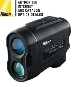 Nikon Monarch™ 3000 Stabilized Laser Rangefinder for Hunting Shooting