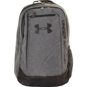 Under Armour Hustle Ldwr Mens Rucksack - Graphite One Size
