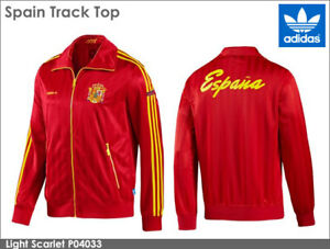 nwt~Adidas SPAIN CLASSIC World Cup Track shirt sweat-jersey Jacket Top~Men sz XL