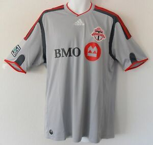 nwt~Adidas TORONTO FC Canada Soccer Football shirt MLS Jersey Top~Mens size Med