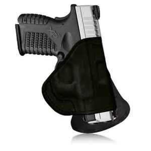 Tagua Gunleather Quick Draw Paddle Holster Glock 43 - Black - Right Handed -