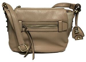 NWT Jessica Simpson Woman's Cross Body Taupe Color Adjustable Shoulder Strap