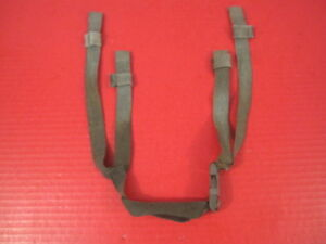 US Army Issued 4-Point Chin Strap Set for ACH & MICH Helmet - ACU Gray