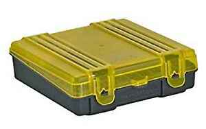 Plano 100 Count Handgun Ammo Case with Hinged Cover Holds 9Mm380Acp Caliber