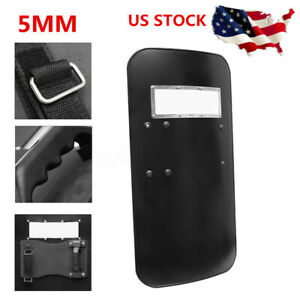 PC Anti Riot CS Military Tactical Police Defense Arm Shield Security Protection