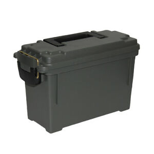 Lot of 12 - Plastic Military Ammo Box Can Safety Box