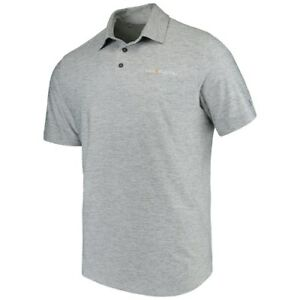 Under Armour THE PLAYERS Heathered Gray Performance Elevated Polo