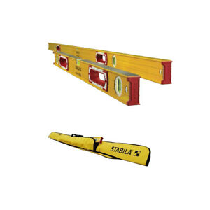 Stabila 37532 Heavy Duty 78-Inch32-Inch Type 196 Jamber Construction Level Set
