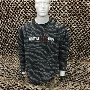 NEW HK Army OG Series DryFit Long Sleeve T-Shirt - Tiger Urban Camo - Large
