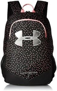Under Armour Boy's Storm Scrimmage BackpackBlack (003)Metallic Silver One