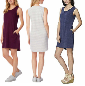 NEW 32 Degrees Cool™ Women#x27;s Ladies Sleeveless Dress with Pockets Variety NWT