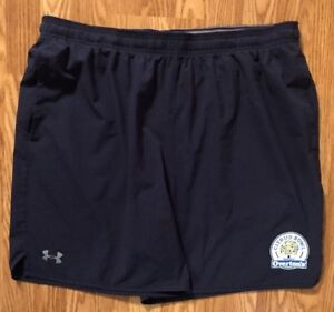 NOTRE DAME FOOTBALL UNDER ARMOUR TEAM ISSUED CITRUS BOWL SHORTS 2XL