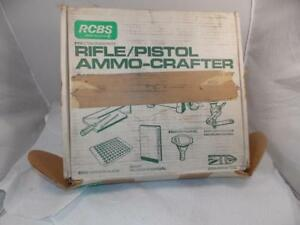 RCBS RIFLEPISTOL AMMO CRAFTER RELOADING SET-09056-NEW OLD STOCK