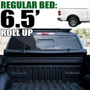 Topline For 2004-2014 Ford F150 6.5 Ft Bed Lock & Roll Up Vinyl Tonneau Cover