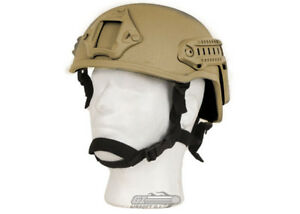 Lancer Tactical MICH 2001 NVG Helmet (Tan)  11616