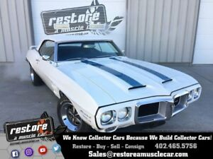 1969 Trans Am -- 1969 Pontiac Trans Am  100986 Miles Cameo Ivory Convertible Pontiac 400 3 Speed