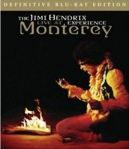 THE JIMI HENDRIX EXPERIENCE Live At Monterey BLU-RAY BRAND NEW All Region