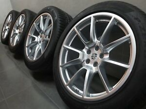 20 Inch Original Summer Wheels Porsche Macan 95B Sports Design Wheel Rims (C236)