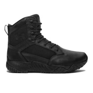 Under Armour 1289001 Men's UA Stellar 2E Wide Leather Tactical Boots Size 8-14