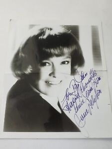 June Allyson American Leading lady autographed to Big John 8
