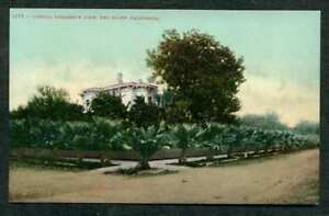 RED BLUFF CALIFORNIA TYPICAL RESIDENCE VIEW OLD POSTCARD UNMAILED