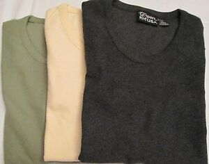 1.99 each 1000 Pc Diport USA Ladies Knit Top Sage Butter Charcoal Black