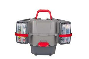 New Plano Kayak V-Crate Tackle Box and Bait Storage PLAM80700