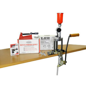 Lee Precision 4 Hole Turret Press with Auto Index Value Kit 90928
