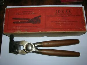 ANTIQUE IDEAL RELOADING TOOL E496 WORG. BOX - MINT - PART OF COLLECTION 5 OF 9