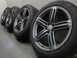 20 Inch Summer Wheels Original Audi Q5 SQ5 S-LINE 8R0601025BG 8R Segment Design