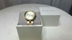 Michael Kors Women's Garner Gold Stainless Steel Bracelet Watch 39mm MK6408