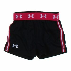 Under Armour Girls Shorts size 33T  black  polyester