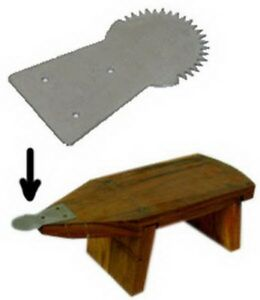 1pc Coconut Scraper with Screw Thai Teeth Tool Stainless Steel Grater Kitchen