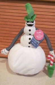 Disney The Nightmare Before Christmas dancing musical Snow Jack Plush 13